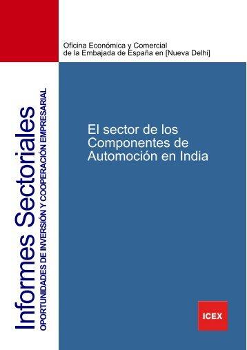 El sector de los Componentes de Automoción en India