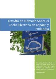 Estudio de Mercado Sobre el Coche Eléctrico en España y Finlandia