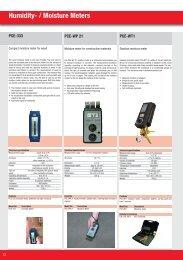 Humidity- / Moisture Meters