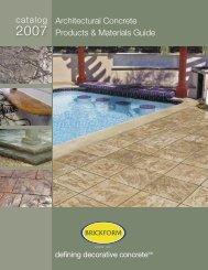 BRICKFORM Catalog 2004 - Industrial Contractor Supply