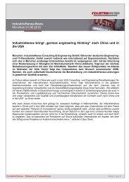 2010-06-02 PM USA DE - Industriehansa Consulting & Engineering ...