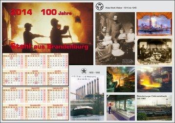2014 100 Jahre - Industriemuseum Brandenburg