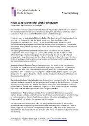 Als PDF-Datei lesen - Evangelisch-Lutherische Kirche in Bayern