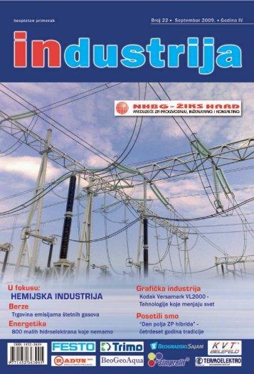 Izbor sajamskih događaja u 2009. - Industrija