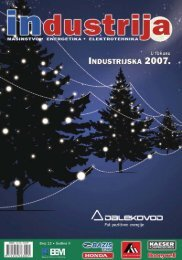 Di e sel of the year 2007 - Industrija