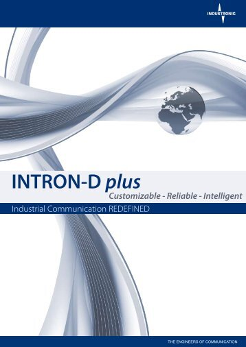 INTRON-D plus Brochure - Industronic