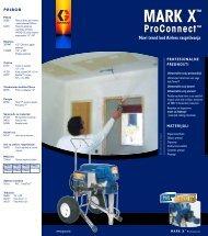 320591HR , MARK X ProConnect Novi trend kod Airless raspršivanja