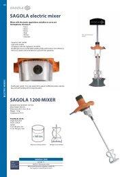 SAGOLA electric mixer SAGOLA 1200 MIXER