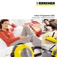Indoor Programme 2007