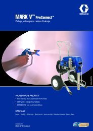320583HR , MARK V™ ProConnect™ Za boje, vatrootporno i airless ...