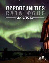 2012-2013 Opportunities Catalogue - IndustryMatters.com