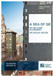 Economic Report – A Sea of QE - Industry Super Network