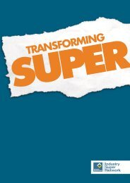 TRANSFORMING - Industry Super Network