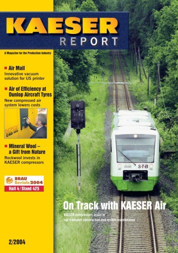 On Track with KAESER Air