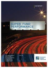 Super Fund Performance - Industry Super Network