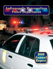 2009 Annual Report - City of Indianapolis