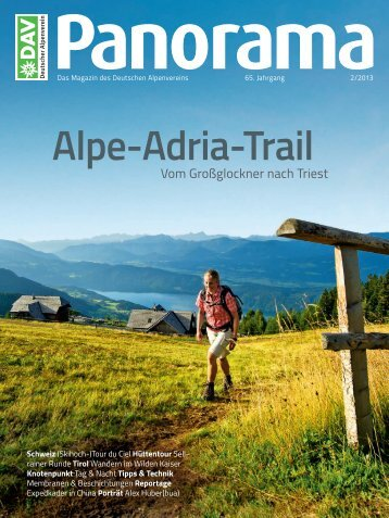 Alpe-Adria-Trail - Deutscher Alpenverein