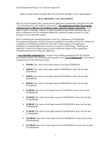 Real Estate Tax Abatement Form - City of Waltham