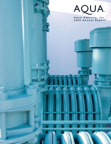 Aqua America, Inc. 2009 Annual Report