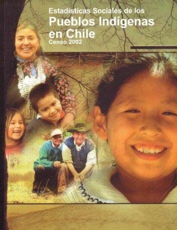 Estadísticas Sociales de los pueblos indígenas en Chile Censo 2002