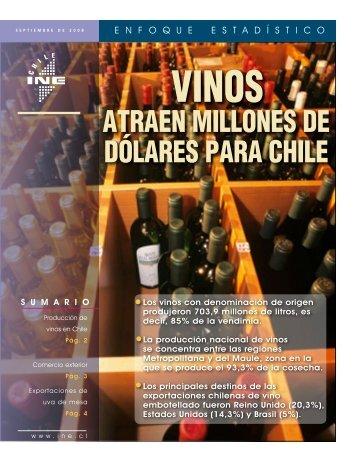 Vinos atraen millones de dólares para Chile(PDF - Instituto Nacional ...