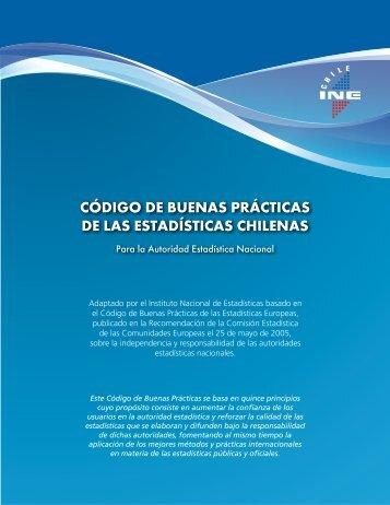 código de buenas prácticas de las estadísticas chilenas