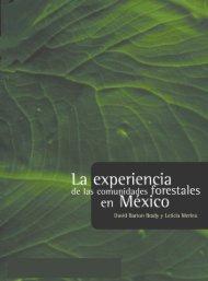 La experiencia de las comunidades forestales en México