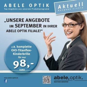 Akt uel l - Abele Optik
