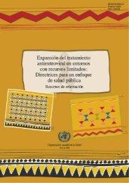 Expansión del tratamiento antirretroviral en los entornos con ...