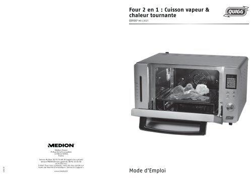 four 2 en 1 cuisson vapeur chaleur tournante medion. Black Bedroom Furniture Sets. Home Design Ideas