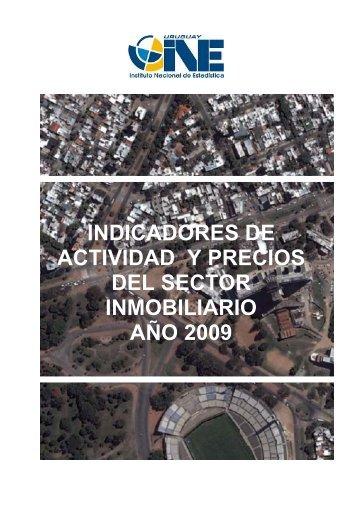 Indicadores de Actividad y Precios del Sector Inmobiliario - Instituto ...