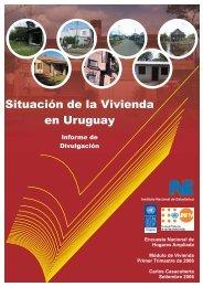 Situación de la Vivienda en Uruguay - Instituto Nacional de Estadística