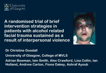 A randomised trial of brief intervention strategies in ... - INEBRIA