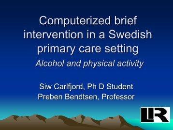 Siw Carlfjord - INEBRIA
