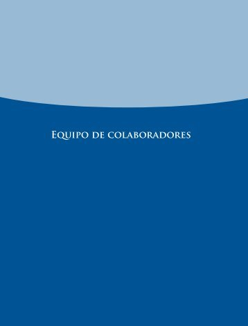 Equipo de colaboradores - Instituto Nacional para la Evaluación de ...