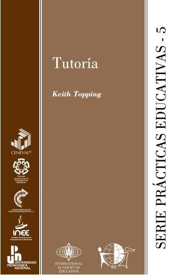 Tutoría - Instituto Nacional para la Evaluación de la Educación