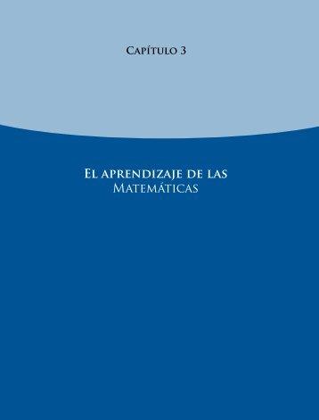 El aprendizaje de las Matemáticas - Instituto Nacional para la ...