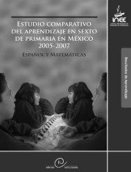 estudio comparativo del aprendizaje - Instituto Nacional para la ...