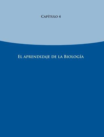El aprendizaje de la Biología - Instituto Nacional para la Evaluación ...