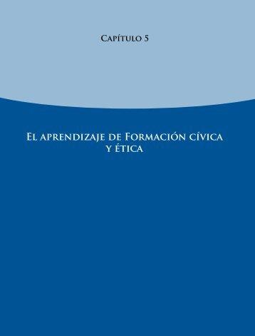 El aprendizaje de Formación cívica y ética - Instituto Nacional para ...