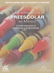 La Educación Preescolar en México Condiciones para la ...