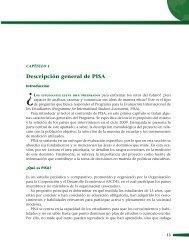 Descripción general de pisa - Instituto Nacional para la Evaluación ...