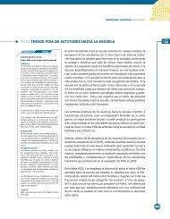Índice PISA de actitudes hacia la escuela - Instituto Nacional para la ...