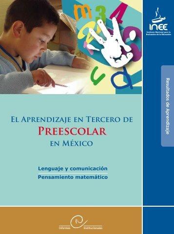 PREEScOlAR - Instituto Nacional para la Evaluación de la Educación