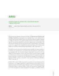 AR03b - Instituto Nacional para la Evaluación de la Educación