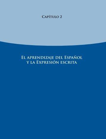 El aprendizaje del Español y la Expresión escrita - Instituto Nacional ...