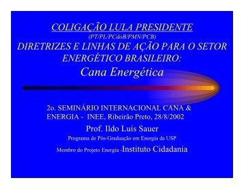 Cana Energética - INEE