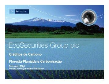 Créditos de Carbono - Floresta Plantada e Carbonização - INEE