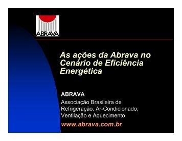 As ações da Abrava no Cenário de Eficiência Energética - INEE