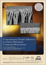 Contemporary Dental Adhesives for Direct ... - IneedCE.com